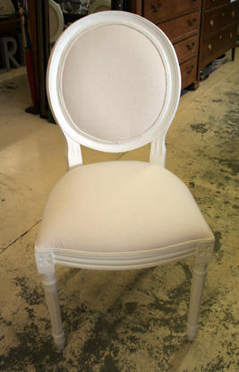 fauteuil medaillon occasion