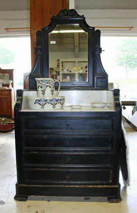 meuble toilette ancien. Black Bedroom Furniture Sets. Home Design Ideas