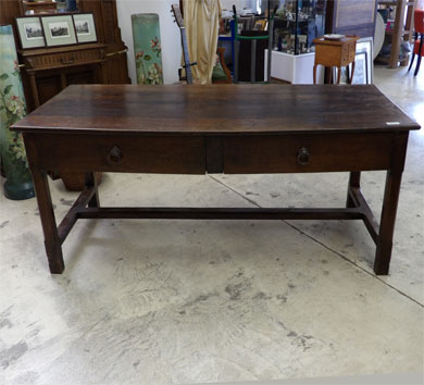Nos meubles antiquit s brocante vendus - Table ferme chene ...