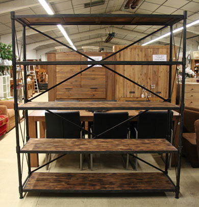 Etagere industrielle metal occasion - Meuble tv industriel occasion ...