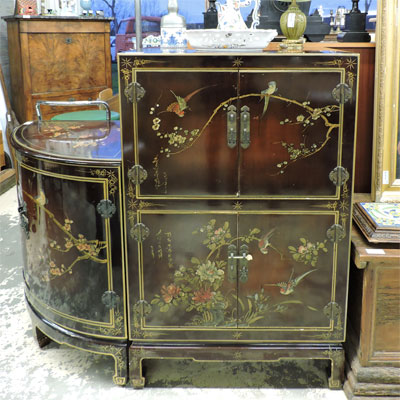 Les meubles occasion for Meuble style chinois