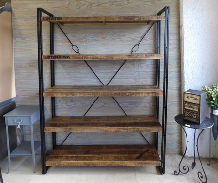 etagere metallique industrielle