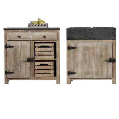 cool gauche meuble tiroirs with meuble de cuisine indpendant. Black Bedroom Furniture Sets. Home Design Ideas
