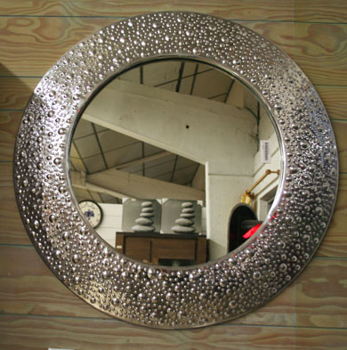 La d coration for Miroir rond 80 cm