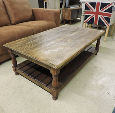 Meubles manguier et bois recycle for Table exterieur largeur 50