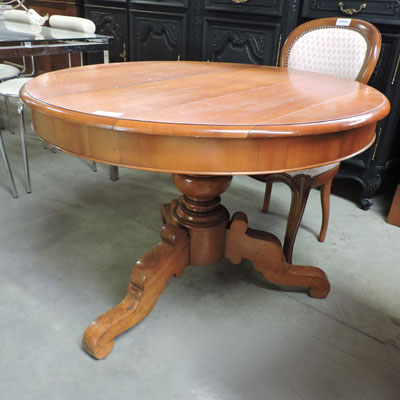 Les meubles antiquit s brocante 62 - Table ronde marbre pied central ...