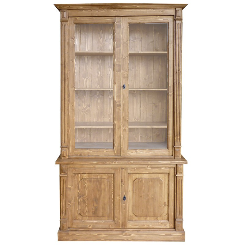 Pin meuble vaisselier 18es en bois fruitier bas 3p for Meuble en pin